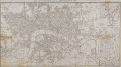 Map of London, and its environs. 1813